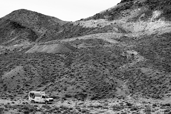 UHaul Truck in Nevada Desert #2