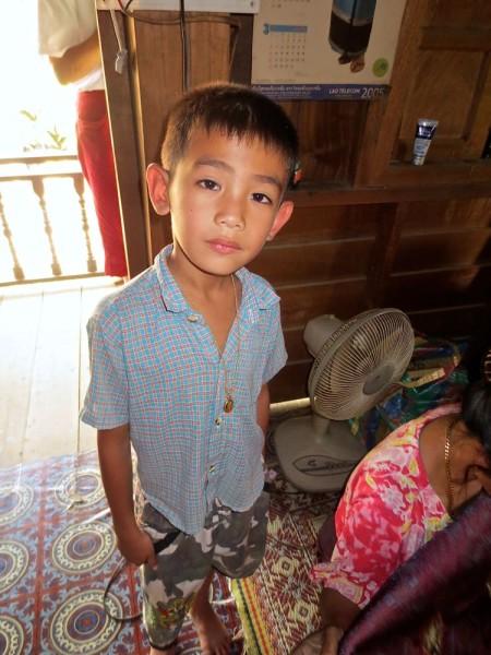 Laotian Boy, Xamti, Laos