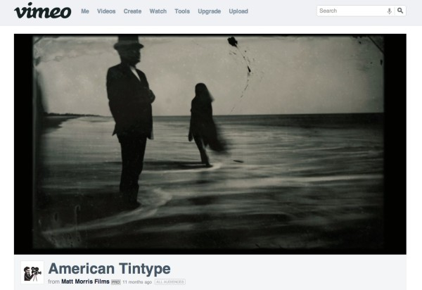 Photo of American Tintype