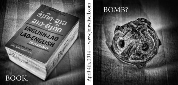 Plain of Jars Project Book. Bomb?