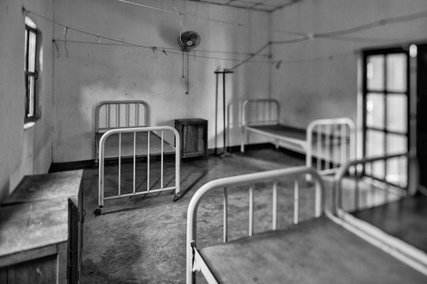 From The Archive: Old Hospital Ward, Laos