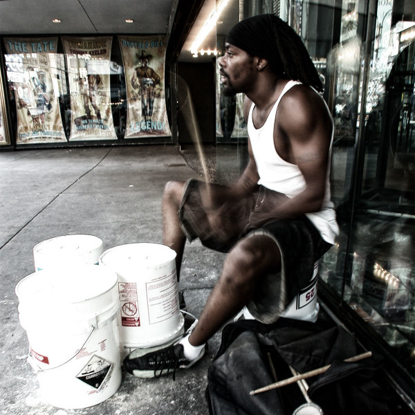 Photo Manhattan Drummer, 2000